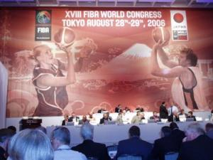 FIBA World Congress Meeting at Tokyo Prince Park Tower Hotel