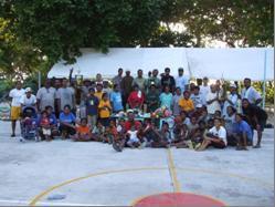 Kayangel Outreach Program Participants