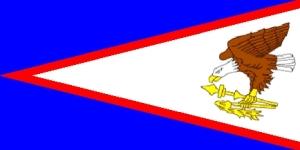 Amerika Samoa Flag