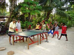 Table Tennis Kiriati Style