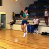 Jessie Key a perfectly controlled Jump Serve.