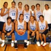 Samoa girls after a game against New Caledonia