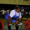 Senimili Turner (Fiji) attempting the dead lift
