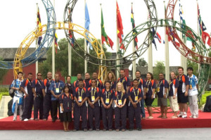 Delegation to the 29th Olympia in Beijing, China 2008