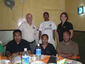 Solomon Islands Federation with FIBA Oceania Delegates