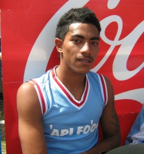 Paseka Fangupo in April 2008