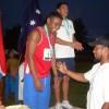 Tierata presenting the Octathlon medals.