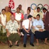 Tonga Team Farewelled at Embassy of China