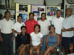 Canoe Association of Palau Board Members