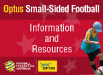 Optus Small Sided Football ad Image