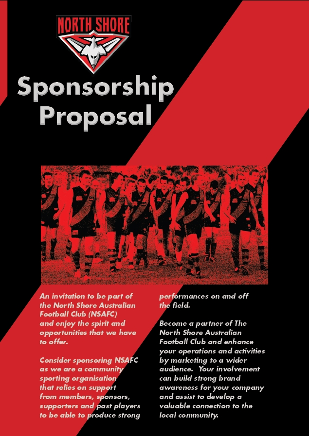 Sponsorship proposals north shore bombers sportstg for Sports team sponsorship proposal template