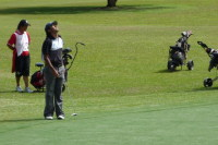 Vikrant misses a crucial putt