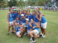 2009 Pacific Mini Games Open Womens Touch Gold Medalists - Samoan Open Womens Team