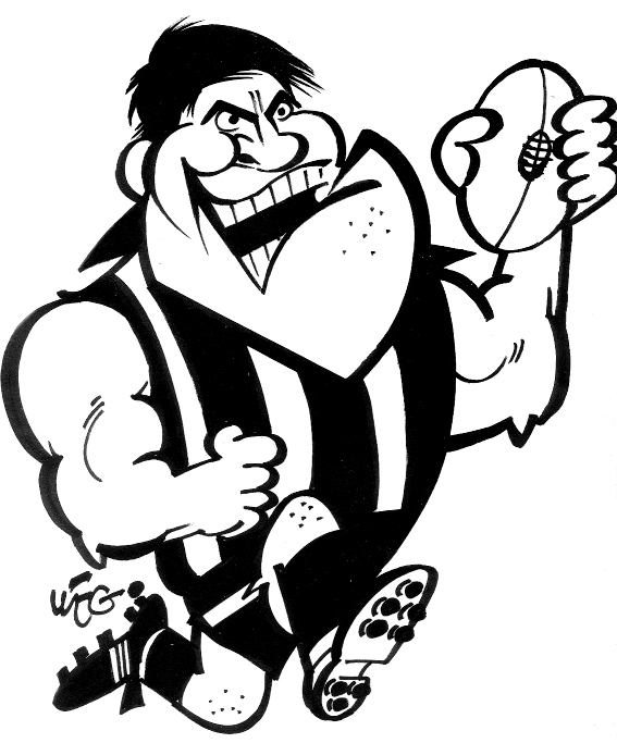 Richmond Tigers Afl Colouring Pages Search Results Fun Afl Colouring In Pages