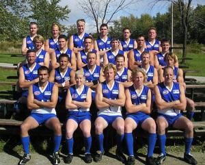2003 Inaugural Etobicoke Kangaroos