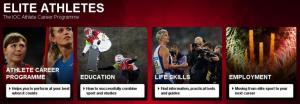 IOC ACP website screen shot