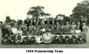 1958 Premiership Team