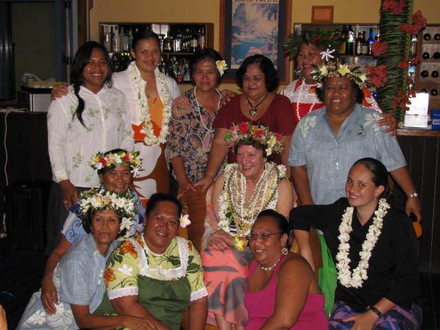 Cook islands women