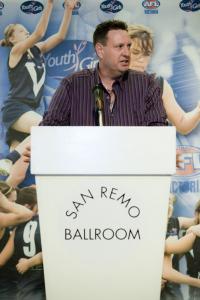 Victorian Head Coach, Andrew Jago