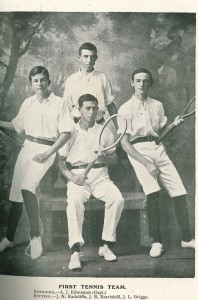 J.N. Radcliffe - far left (sitting)