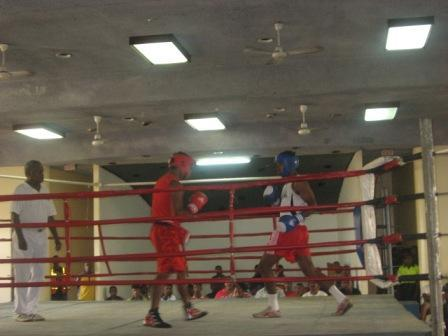 Amateur boxing weights consider