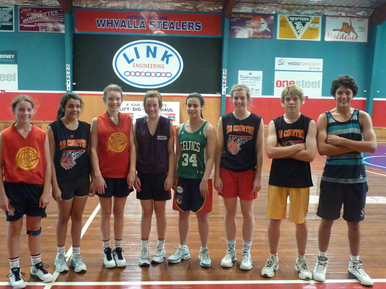 Angela Marino works out with Whyalla Junior State Reps ...