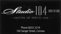 Studio 104 Hair Design