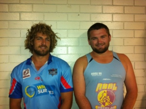 Rep Swans:  Murray Goldsworthy & Warrick Maher
