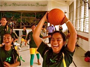 PAKILAU IS THE CHAMPION IN GIRLS BASKETBALL 2011.....
