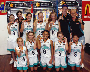 U14 Girls Gold Winners 2012