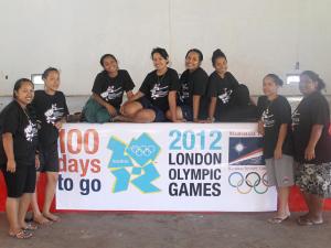 Ebon Women's Volleyball Team