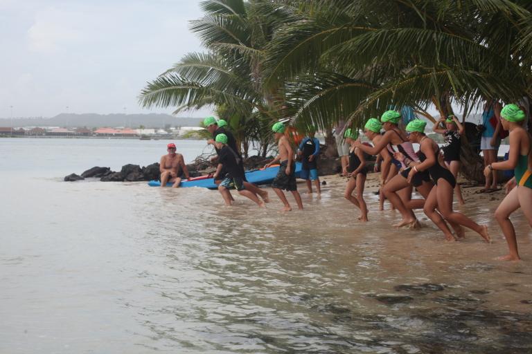 2012 Coconut Point Splash Dash American Samoa Swimming Association Fox Sports Pulse