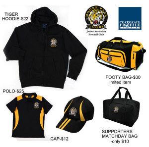 2012 Moore Park Tigers Merchandise
