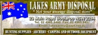 Lakes Army Disposal - Supporter
