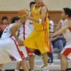 """This is my ball"" seems to what Mark Anthony Isip is saying as he grabbed the ball."