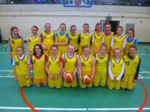 Donegal Town U14 Girls 2112/13