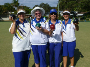 Senior Fours Winners Bateau Bay