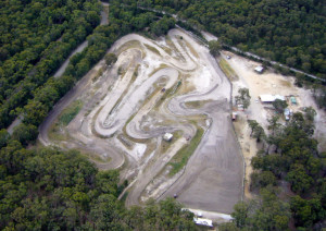 Airial pic of colac mcc Track