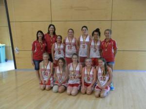 U14 Girls Country Champions