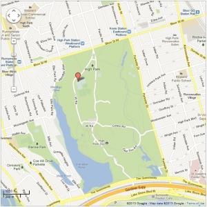 High Park Training Location