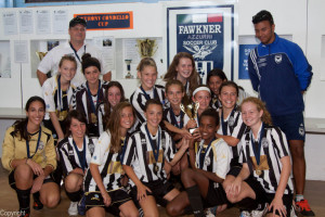 Girls 13-14s Condello Cup Winners