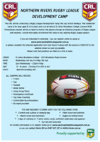 Northern Rivers Rugby league Development camp