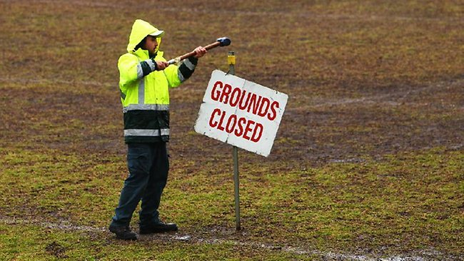 Airey Park Fields Closed Due To Wet Weather