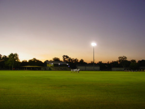 Nitmiluk Oval by night