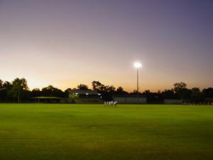 Nitmiluk Oval by night
