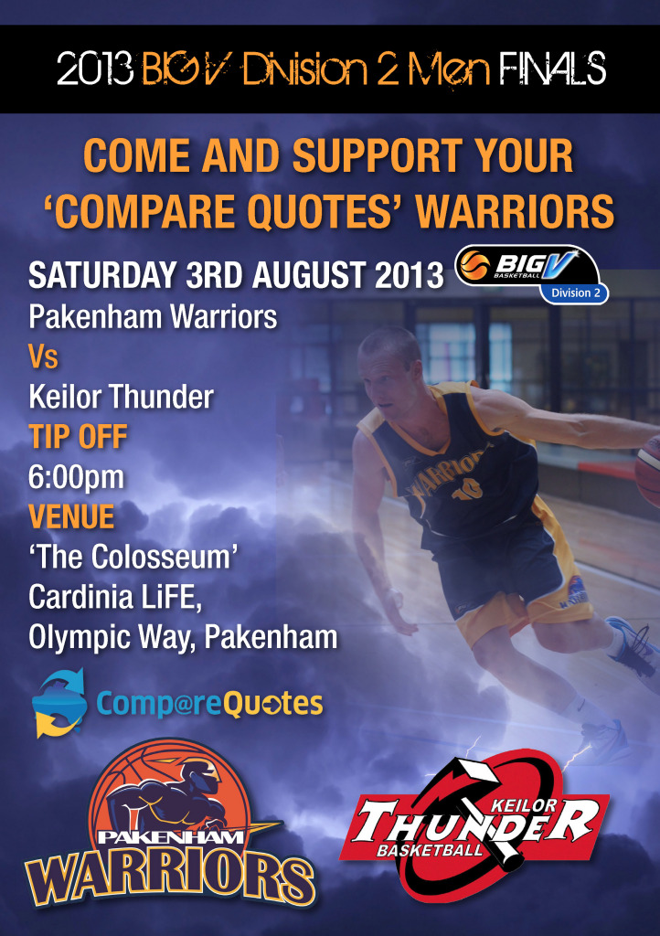 BIG V SF GAME 1 THE COLOSSEUM THIS SATURDAY - Pakenham Basketball
