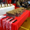 Trophy's and medallions ready to go.