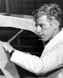 Jack Holt, legendary English designer of the Heron