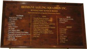 Benefactors Honour Board