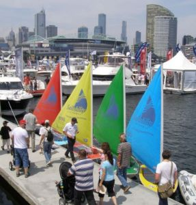The Access Fleet at the 2008 Sumer Boat Show